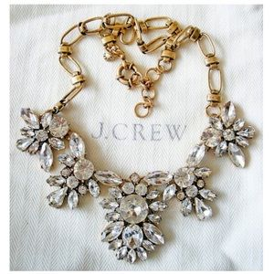 J. Crew Crystal Statement Collar Necklace